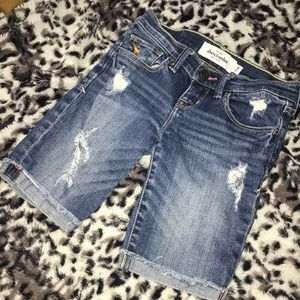 3/$20 💙 Abercrombie Destroyed Shorts 8